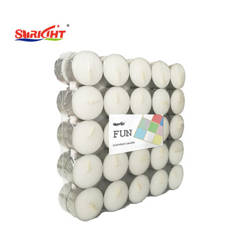 Daily Use White Paraffin Wax/MSDS Soybean Wax/ RSPO Palm Wax Tealight Candle for Massage Use