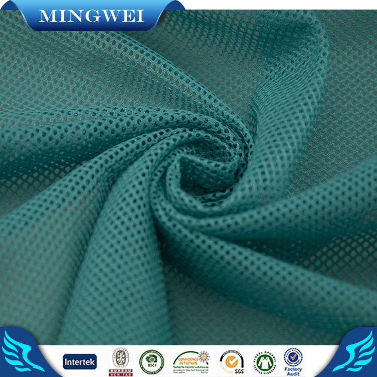 Factory Direct Sales Soft Recycled Polyester Mesh Fabric For Clothing