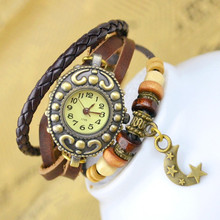 Leather Strap Moonlight Lady Watch Online