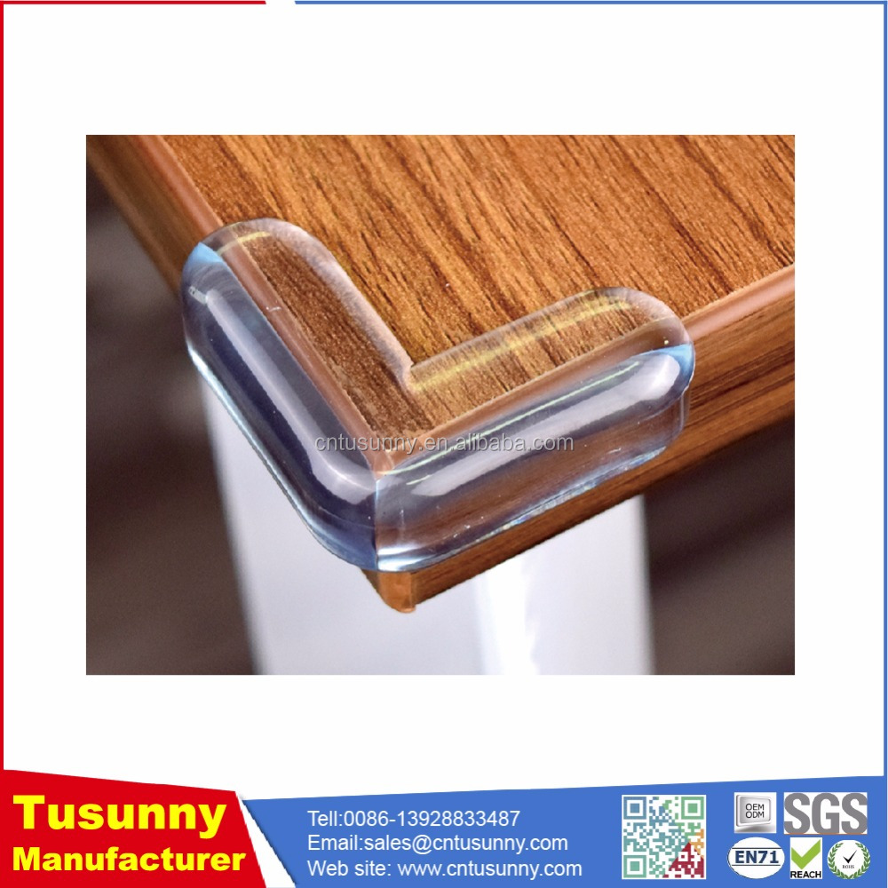 Non-Toxic PVC baby proof table corners cover guard for child