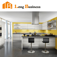 Very cheap products poplar solid wood kitchen cabinet buying online in China