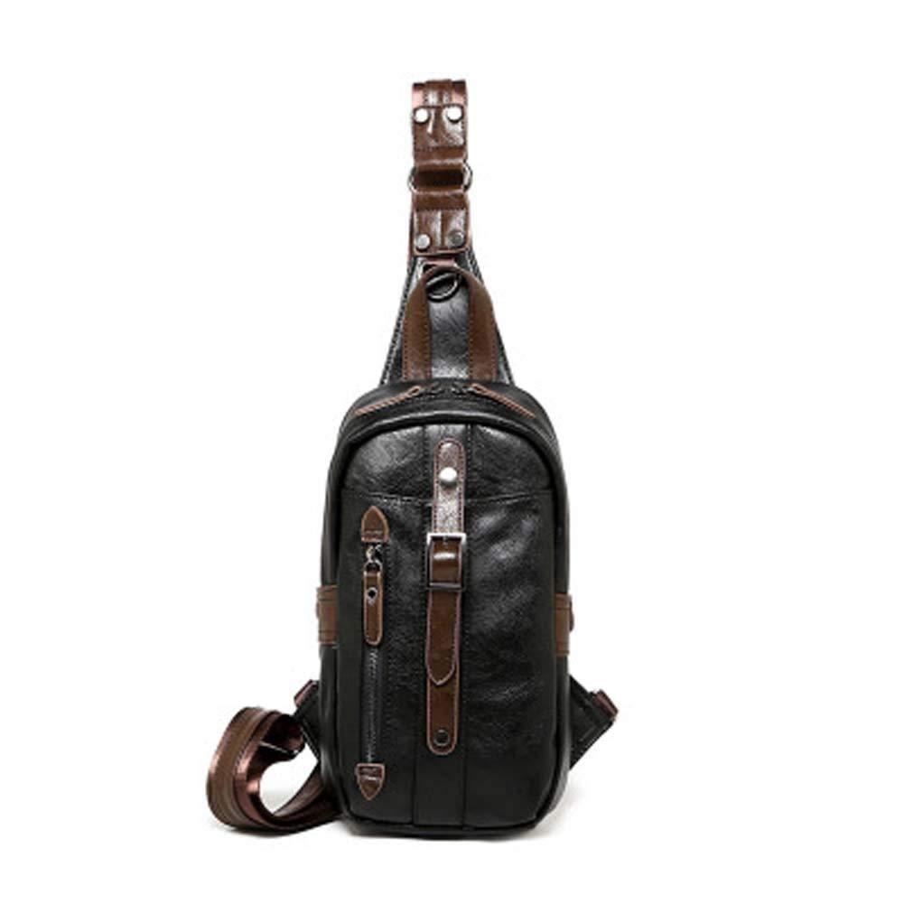 WEYUN Outdoor Sport Sling Bag Backpack Shoulder Chest Crossbody Bag Waterproof Unisex Travel Multipurpose Anti Theft Cross Body Daypacks for Cycling,Fitness