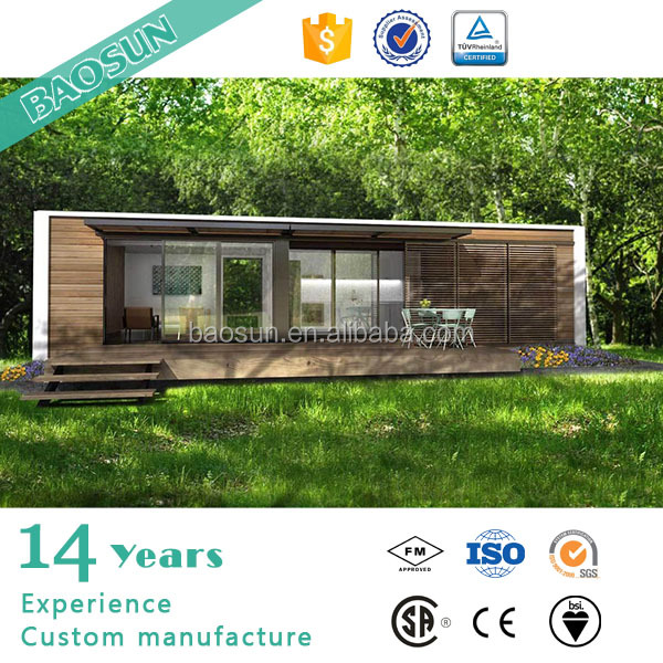 Turkey style prefabricated wooden modular house