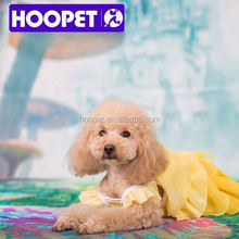Hoopet colorful princess dog dress clothes for big dogs