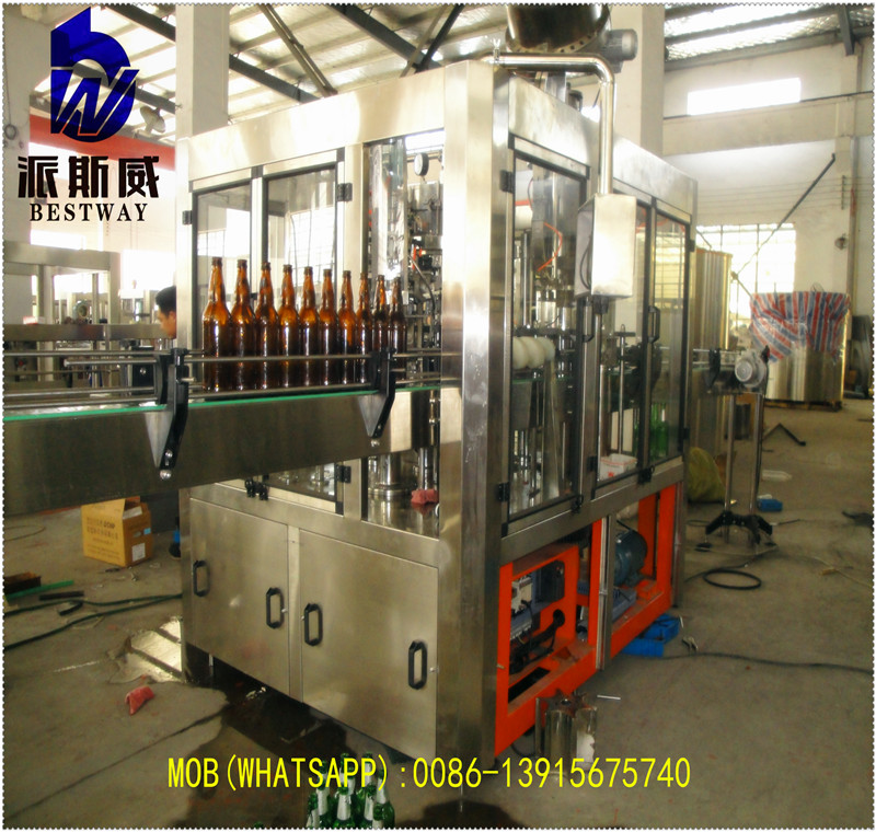 2017 new automatic beer filling machine / bottling equipment preferred equipments