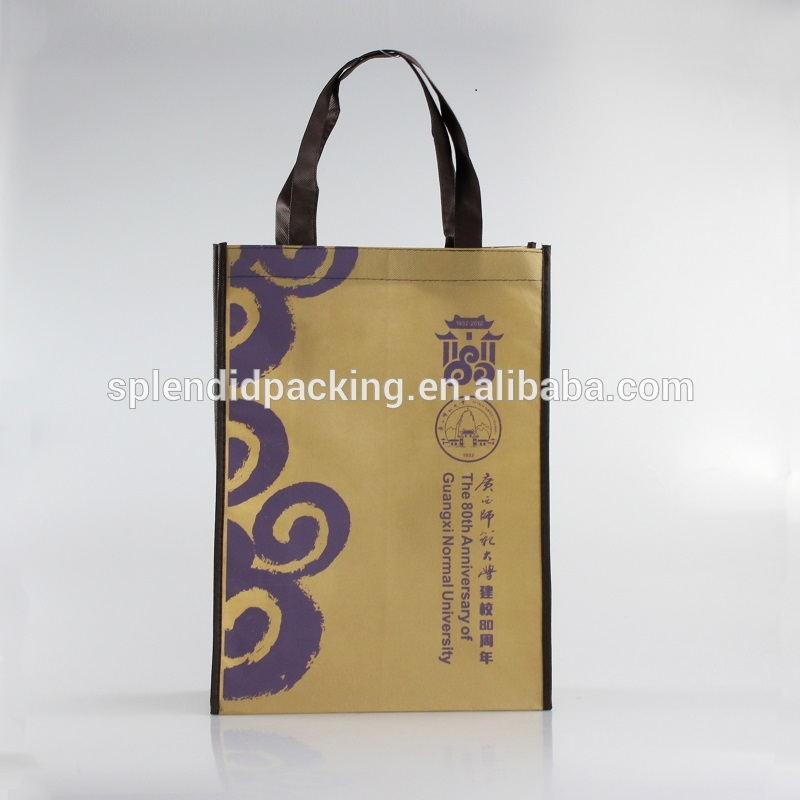 Non-woven Material and Handled Style Non Woven Reusable Shopping Bags