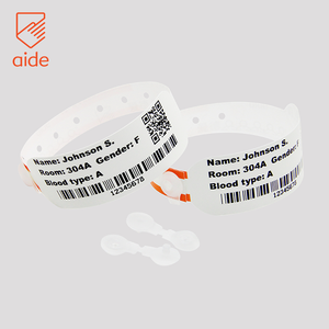 Super Soft Thermal Children's Patient Identification Bands hospital id wristbands Id Bracelets Wristbands For Kids