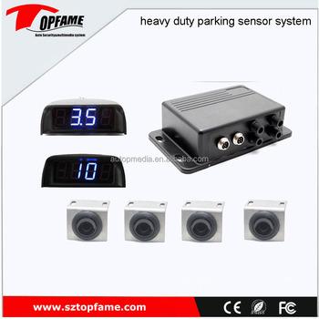 0.4-10m Sensor Detection Range Collision Avoidance Truck/bus/vans ...