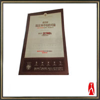 Durable in use 157g coated paper advertising Poster Printing service