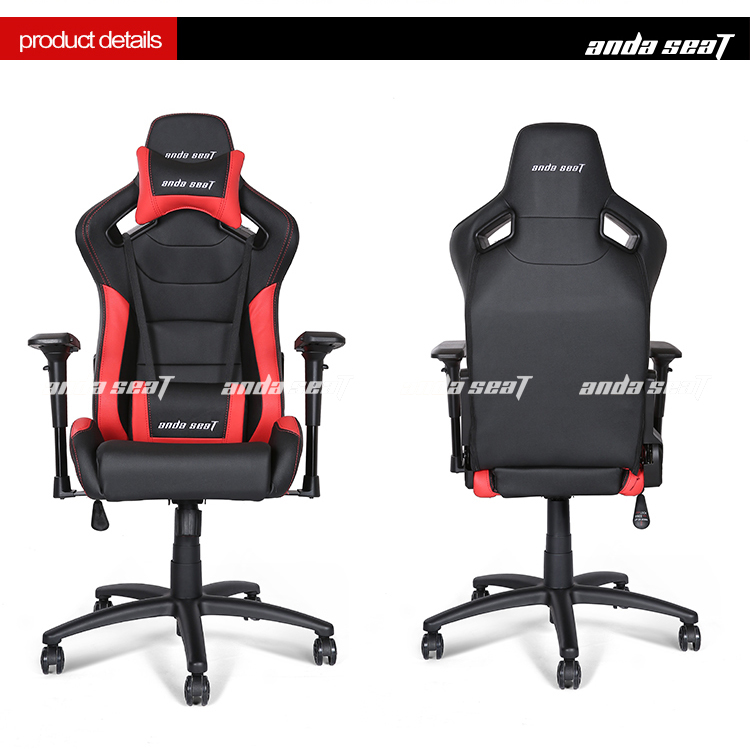 Dalang Red/Black Racing Car Seat Hottest Sales Office Gaming Chair