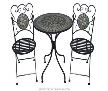 China Company Wholesale Cheap Outdoor Garden Treasures Leisure Ways Metal Patio  Furniture