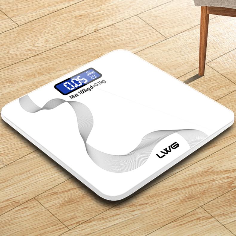 Digitale Gewicht Machine 180 KG Persoonlijke Elektronische Digitale Lichaamsgewicht Weegschaal