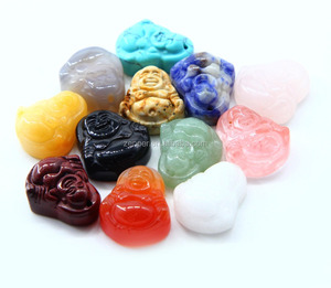 Wholesale fashion Buddha Natural Stone Pendant stone Point Pendants Charms Quartz Pendants