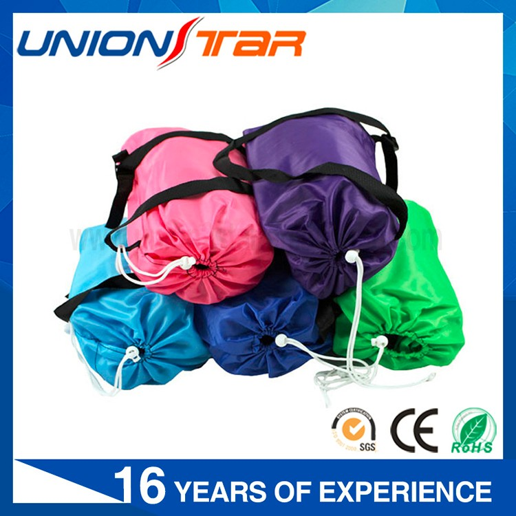 Free shipping inflatable air sleeping bag for Outdoor Camping Hiking Travelling