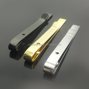 Tie clip factory custom any shaped metal tie clips with any size