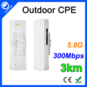 1000mw 5.8Ghz 300Mbps High Power Outdoor Wireless Access Point /CPE /network router 3km Transmission Distance