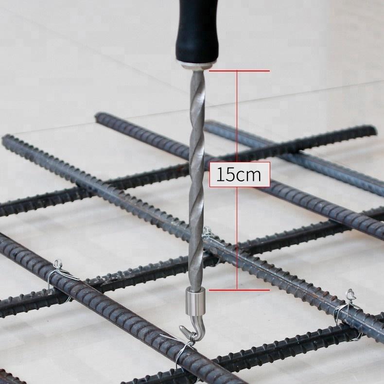 Steel Bar Binding Hook Auto Rebar Tie Wire Twister Hand Hooks Ties ...