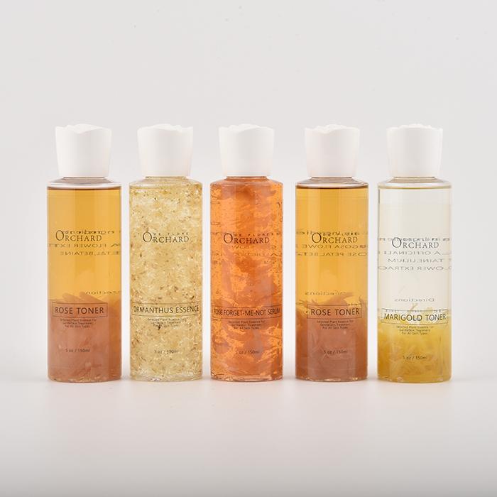 प्राकृतिक गुलाब पुष्प पानी के लिए सभी त्वचा प्रकार, गुलाब Hydrosol 250 ml