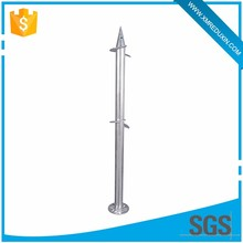 No waiting times can be subjected to loads immediately steel galvanized ground screw