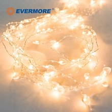 EVERMORE Christmas Holiday Outdoor LED Colorful String Lights Chain