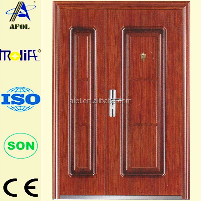 AFOL China design mother and son steel security door