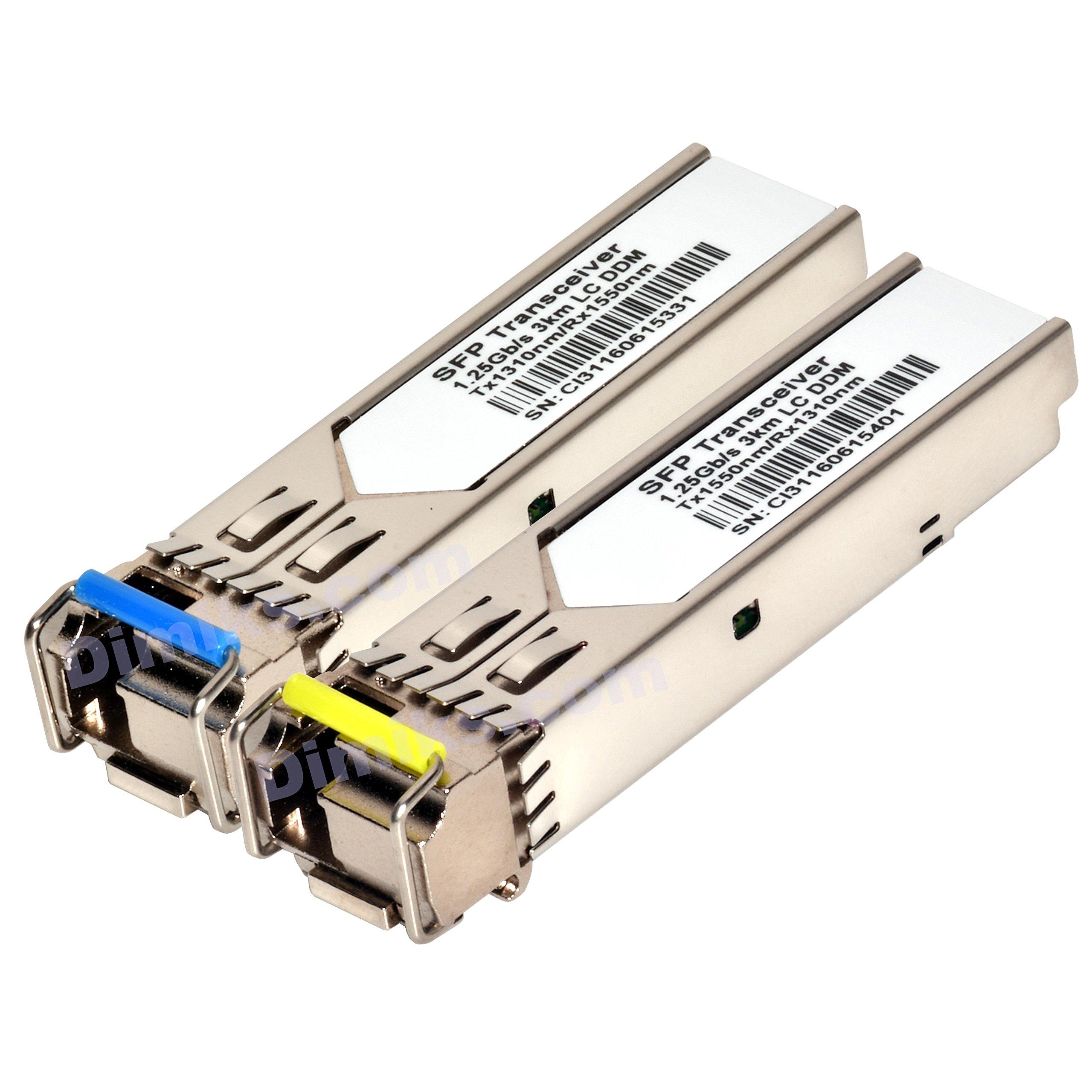 For Cisco New GLC-BX-U //GLC-BX-D Pair 20KM 1310//1490nm Transceiver