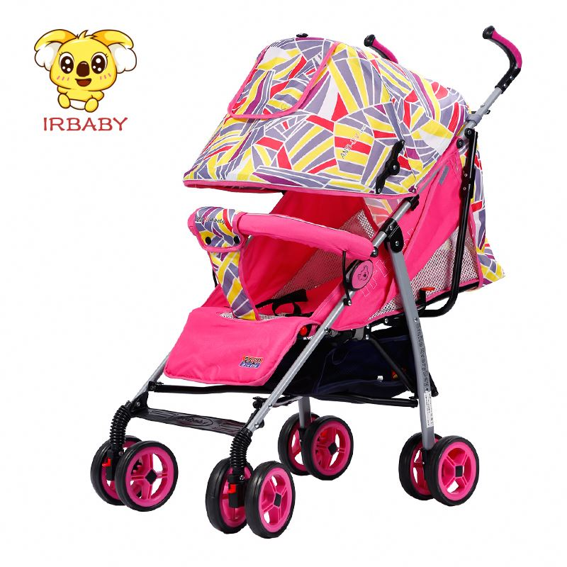 EN1888 CE approved and Australia standard Comfortable baby strollers / one hand easy folding stroller full canopy baby carrier