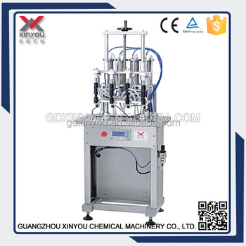 Xinyou Glass bottle perfume filling machine,perfume production line, perfume filler