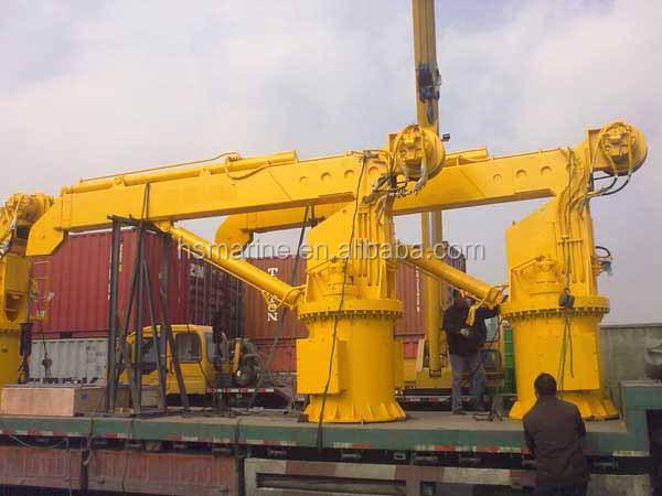 Telescopic Deck Cranes : Kn m marine deck teleskop kran andere kr?ne produkt id