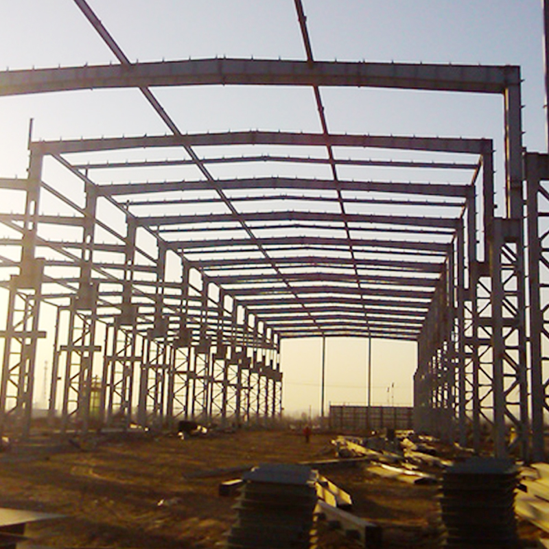 Sunway double-deck steel structure warehouse storage building