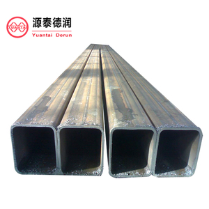 hollow section shape welded ERW structure square pipe,fast supply speed