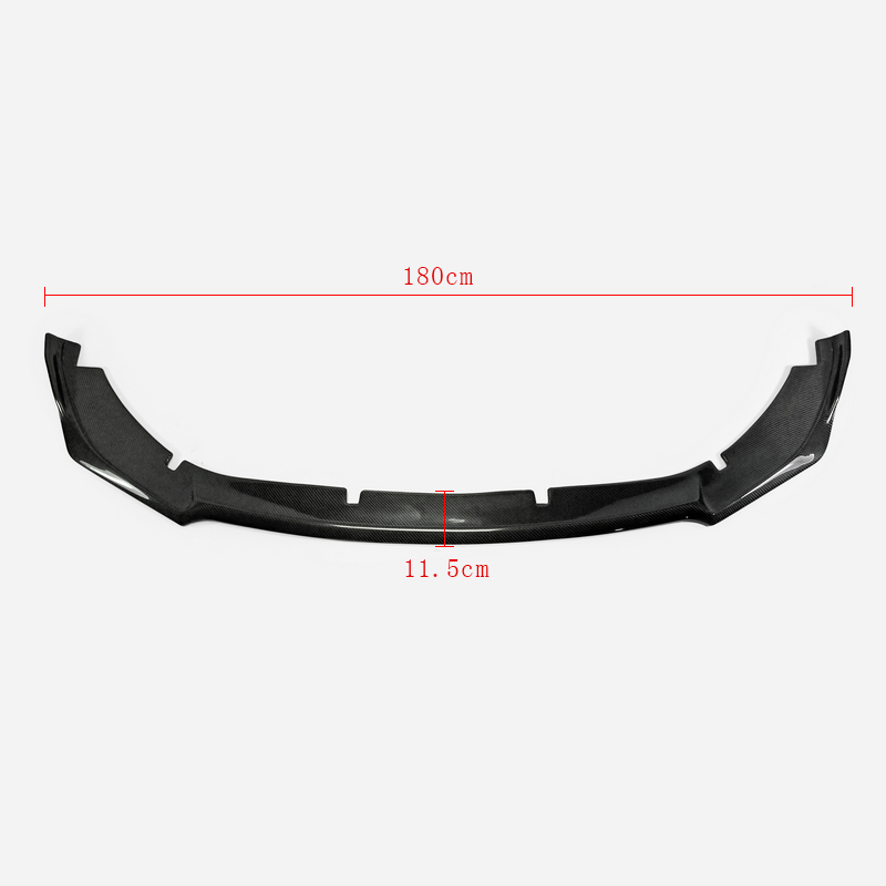 For Kia Stinger Type M Carbon Fiber Front Bumper Lip Spoiler