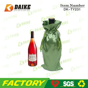 Factory OEM Supplier Satin Wine Skin Bubble Bag