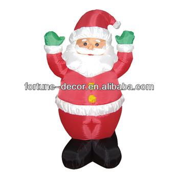 120cmh 4ft inflatable christmas decoration santa claus for 4 foot santa claus decoration