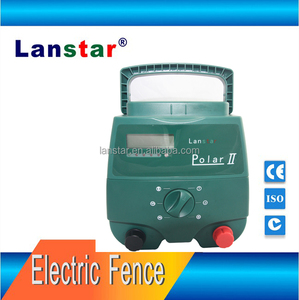 High quality poultry solar animals sheep goats cows electric fence energizer 2J 200-20KM