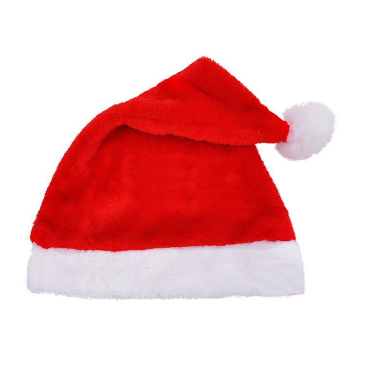 RTS wholesales good quality adults Christmas santa hat/Xmas cap