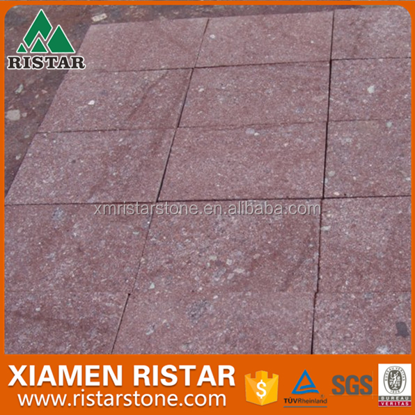 Flamed Red Porphyry paver,Porphyry pavement,Porphyry paving stone