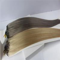Cheap Brazilian Human Hair Micro Loop Ring Hair Extension