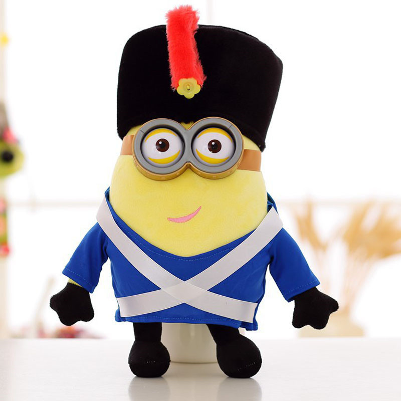 Brinquedos Napoleonic Era Minions Toys Doll Plush Despicable Me Creative Minions 3D Eyes Yellow Soybeans Minion TV Baby Toys Kid