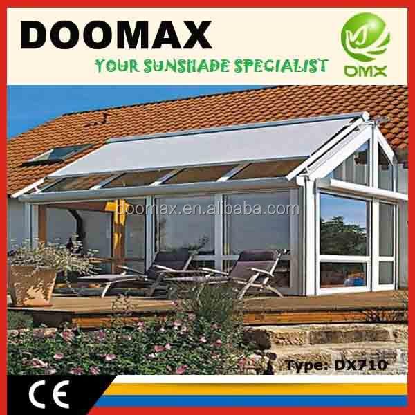 Dx710 intrekbare metalen dak pergola luifel systemen luifels product id 1621476473 dutch - Dak van pergola ...
