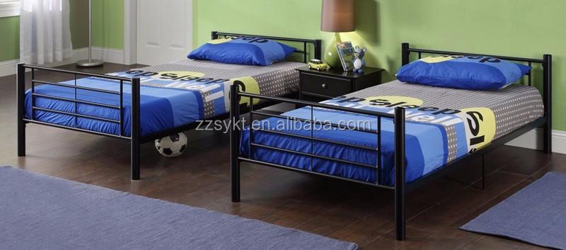 Color Personalizado Muebles De Dormitorio Cama Litera De Metal ...