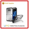 [UPO] 3 in 1 TPU + PC Shockproof Tank Kickstand Phone Cases for Samsung Galaxy S7 with Waterproof Screen Protector