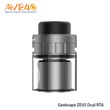 Double Chimney Design GeekVape Zeus Dual RTA (rebuildable tank atomizer)