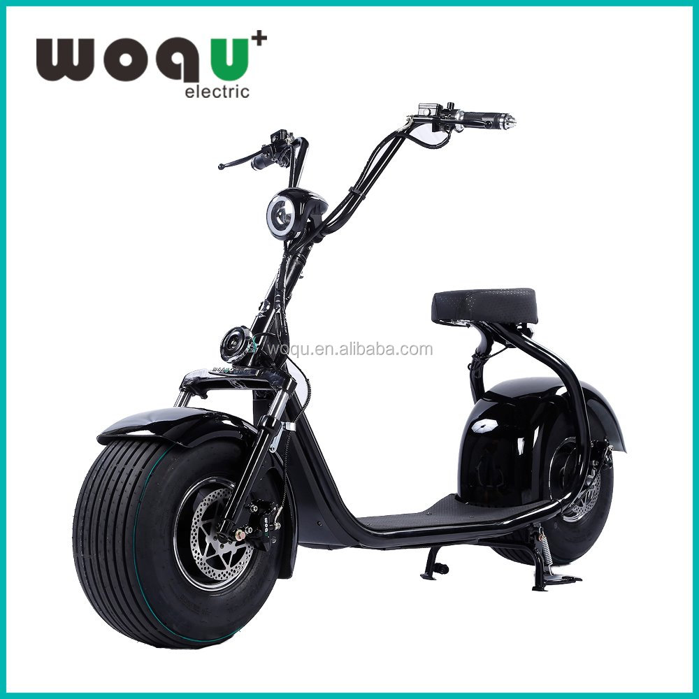 China elektrische scooter WOQU original factory citycoco lastest fashion factory e-scooter motorcycle