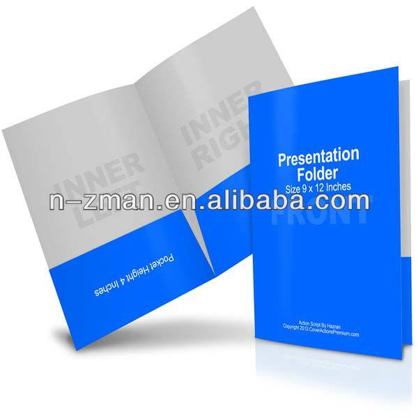 presentation folder presentation folder printing pocket presentation