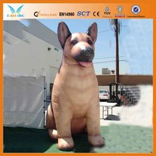 Inflatable dog cartoon,inflatable moving cartoon advertisement