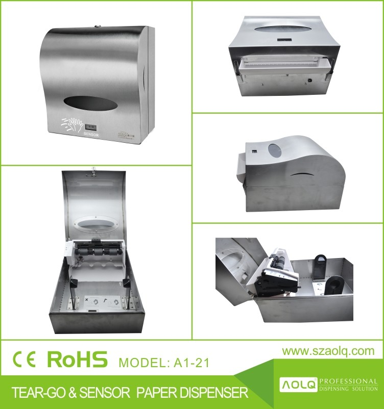 Automatic Paper Towel Dispenser For Kitchen Dandk Organizer