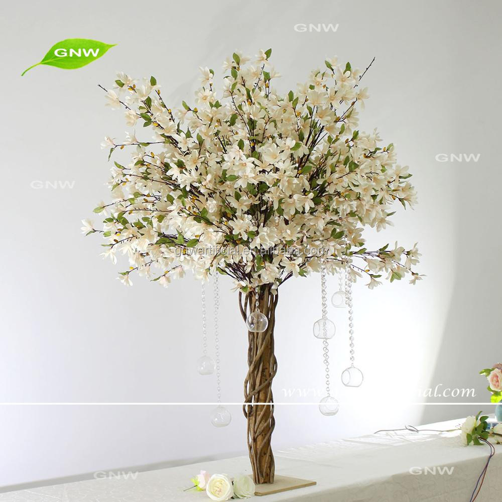 GNW 2018 New Creative Arrivals Artificial Magnolia Wedding Centerpieces For Table