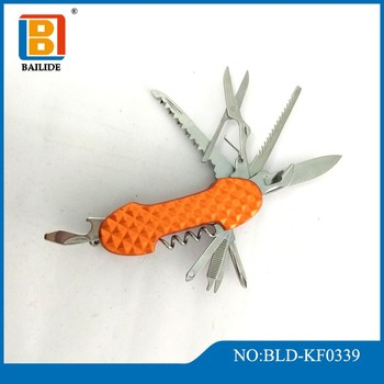 2018 High Quality Personalized Orange Knife Multi-Purpose Knives