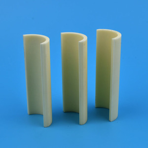 High Heat Resistant 99% Industrial Ceramic Alumina Tube For Furnace